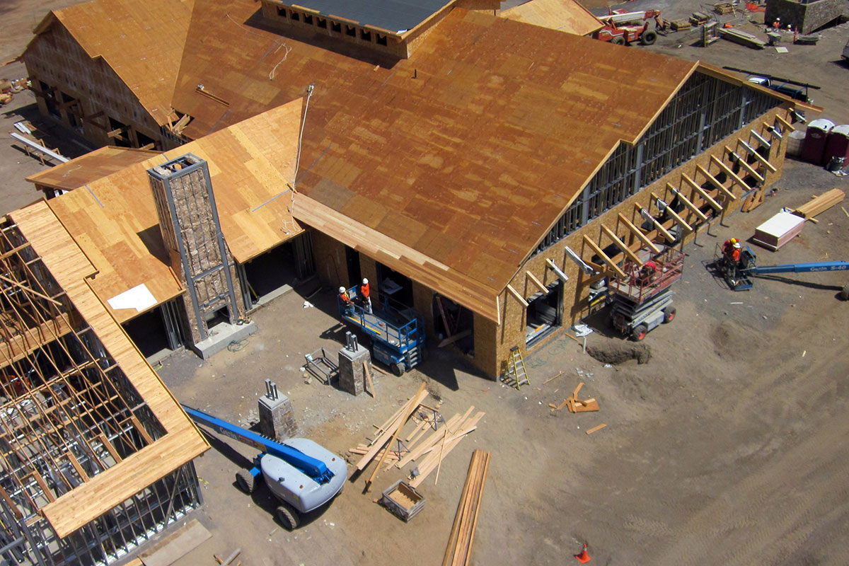 Commercial Framing in Central Oregon